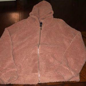 Plus Size Teddy Bear Jacket